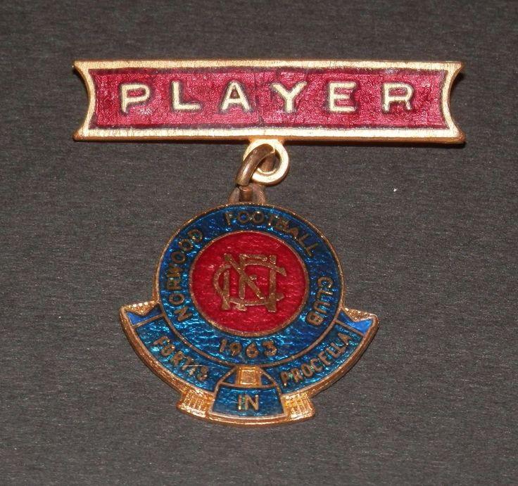 1963 Norwood Football Club SANFL Original Membership Badge Player Issue in Sporting Goods, AFL, Australian Rules, Memorabilia | eBay!