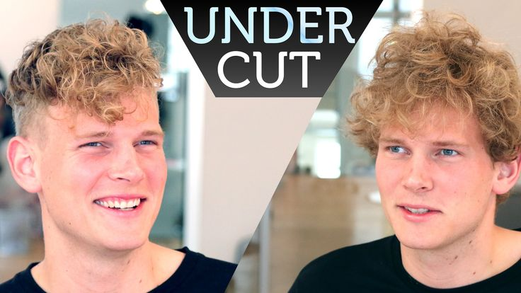 Undercut with Curls and Texture on Top I Men's Hair Inspiration