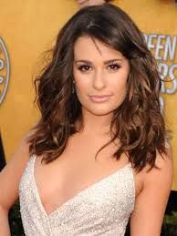 Image result for face framing haircuts for medium length curly hair