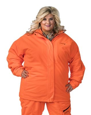 790e7ca4e04b7 DSG Addie Plus Size Hunting Jacket- Blaze Orange