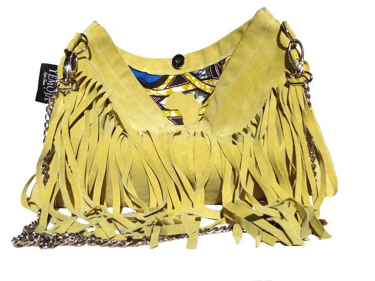 Yellow Fringe bag