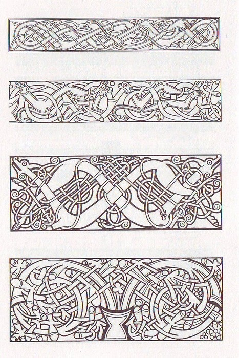 norse knotwork border images galleries with a bite. Black Bedroom Furniture Sets. Home Design Ideas
