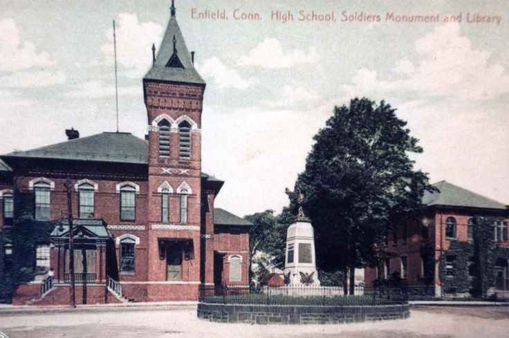 Enfield HS, Soldiers Monument