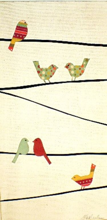 Birds on Wires BY Erica Maule.