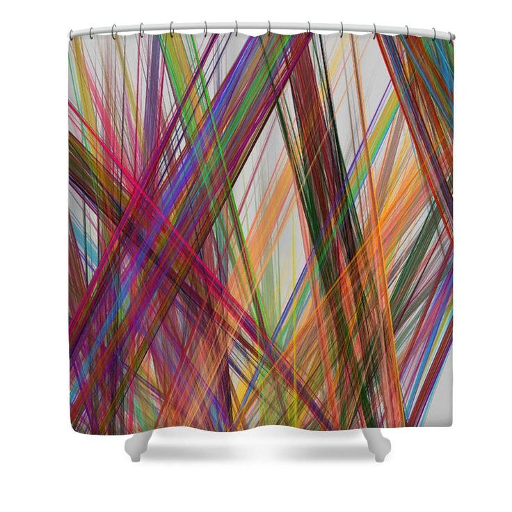 Straight Line Modern Art : Best colorful shower curtains modern art psychedelic