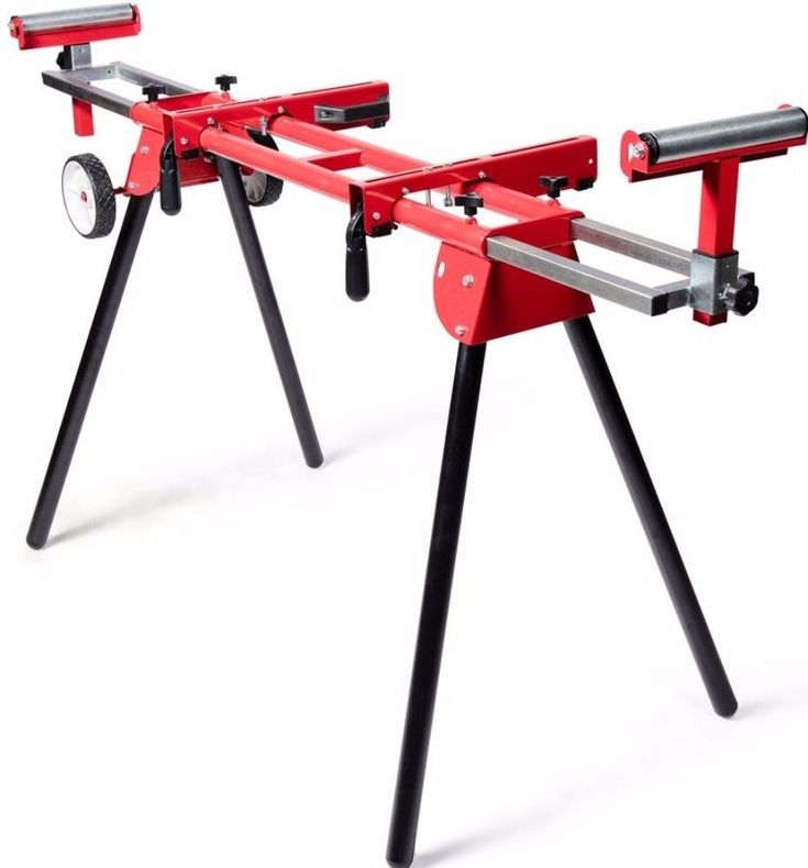 8 in. Miter Saw Stand Adjustable Portable Lightweight Power Tool Accessory #mitersawstand