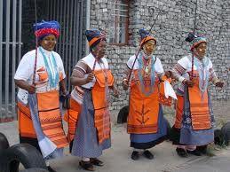 Traditional Xhosa dancing