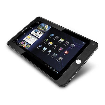 Coby Kyros 7-Inch Android 4.0 4 GB 16:9 Resistive Touchscreen Internet Tablet, Black MID7033-4