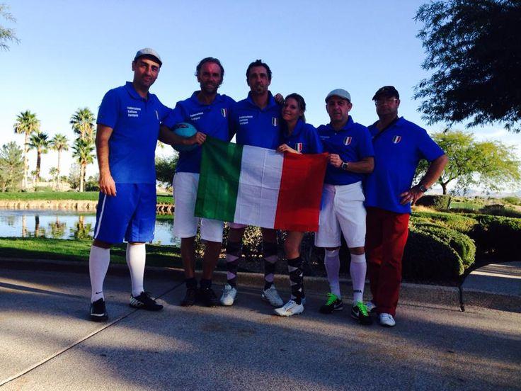 La Nazionale Italiana Footgolf a Las Vegas.  http://www.federfootgolf.it/ottimo-risultato-della-nazionale-italiana-al-las-vegas-footgolf-open/