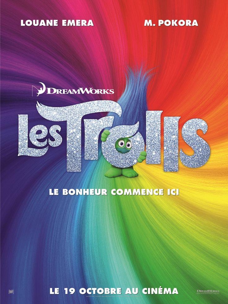 Les Trolls réalisé par Mike Mitchell. En salles le 19 octobre 2016.