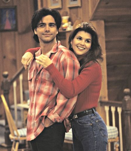 Jesse & Becky Katsopolis | Full House (1987 - 1995)    #johnstamos #loriloughlin #couples