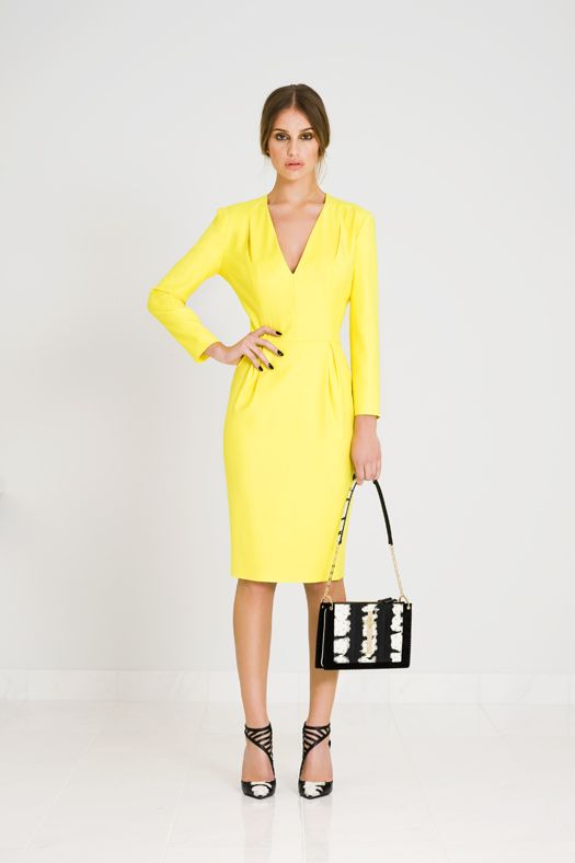 Shoes ith yello dress 14 - I love Yellow dress