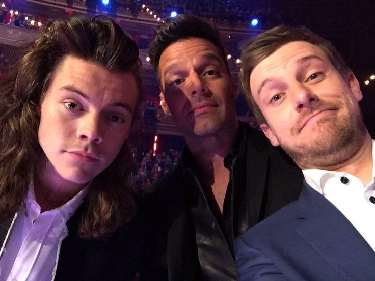 Harry Styles Ricky Martin Chris Ramsey