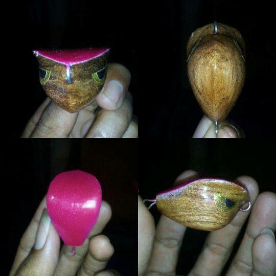 Handmade jumpfrog