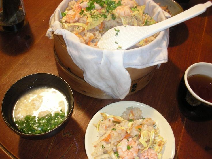蒸し寿司  22.12.2012