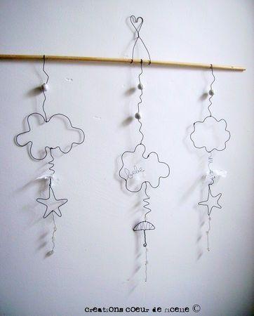 fil de fer nuage