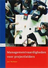 In Managementvaardigheden voor projectleiders maak je uitgebreid kennis met aspecten die de samenwerking en de communicatie binnen projecten betreffen. Aan bod komen tal van vaardigheden en technieken die ondersteunend zijn bij het professioneel aanpakken van een project. Dit boek kan in combinatie worden gebruikt met de boeken Projectmanagement 1 ISBN: 9789085063001