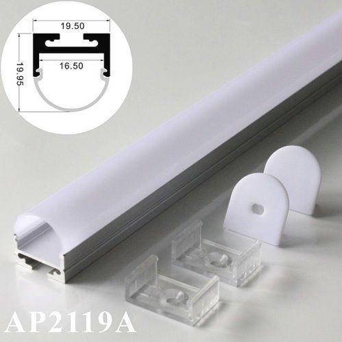 40 m (20 unids) mucho, 2 m por pieza, perfil de aluminio extruido para tiras de led de luz, carcasa de aluminio llevó la luz de tira en Luces de Barra de LED de Luces e iluminación en AliExpress.com | Alibaba Group