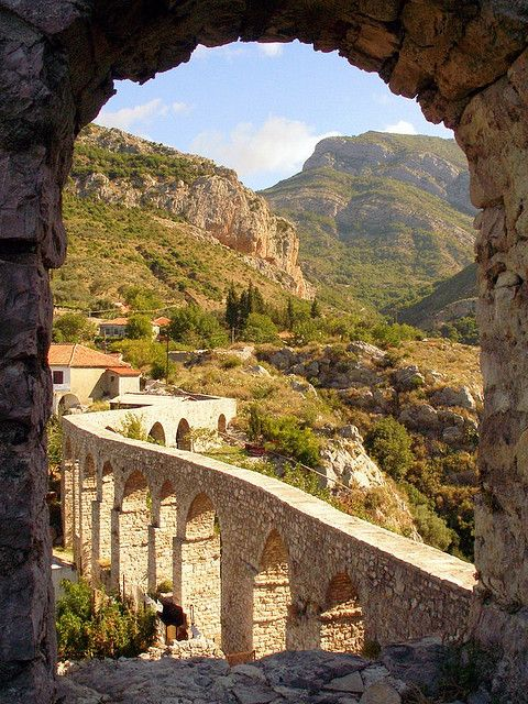 The old aqueduct of Stari Bar, Montenegro, I was here last year! Really quite beautiful!!