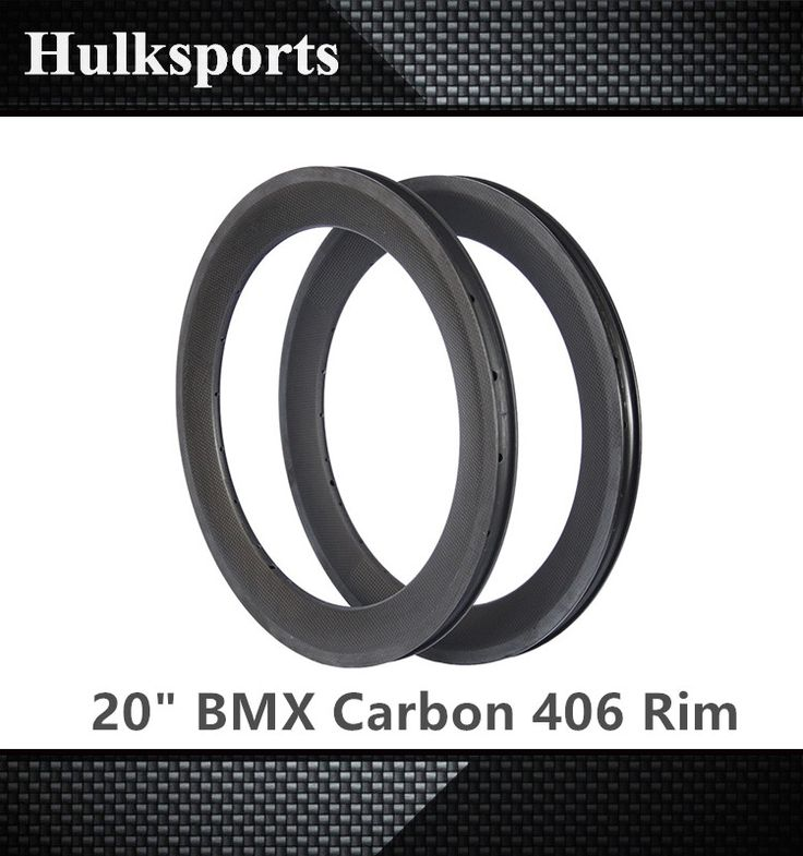 "Check out this product on Alibaba.com APP 20"" carbon rims clincher 25mm width carbon road bike wheel rim bmx rim 406 carbon"
