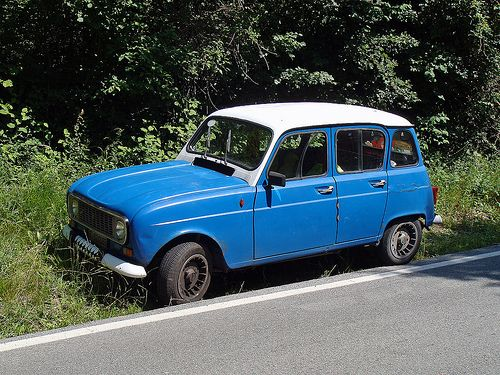 Colourful Renault 4