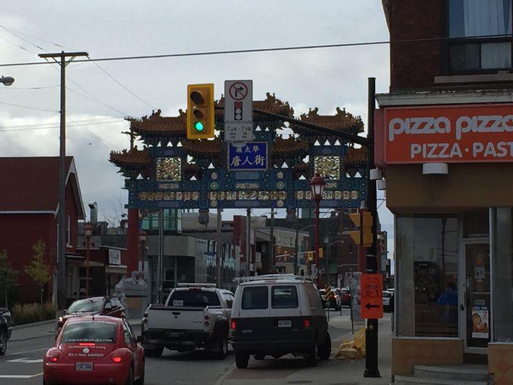 Chinatown in Ottawa...