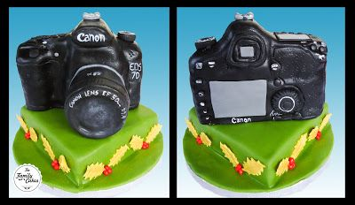 Bolo Cannon 7D / Cannon 7D Cake - The Family Cakes