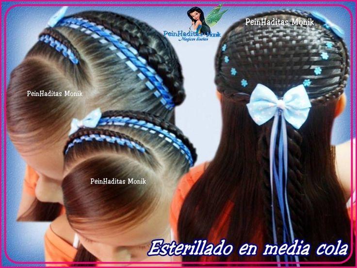 peinados de niñas - Buscar con Google