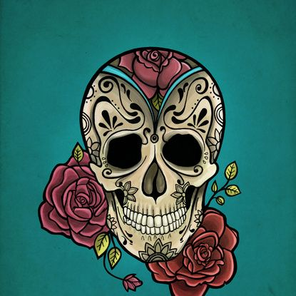 1000+ ideas about Mexican Skull Art on Pinterest | Mexican ...