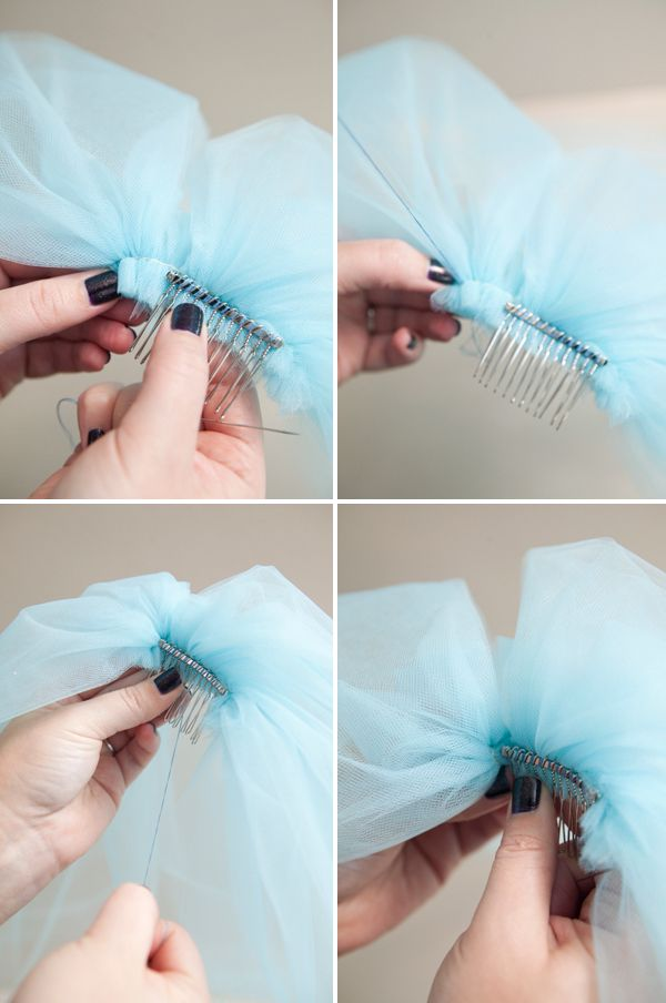 #weddingDIY ~ how to easily make a silly bachelorette party veil!