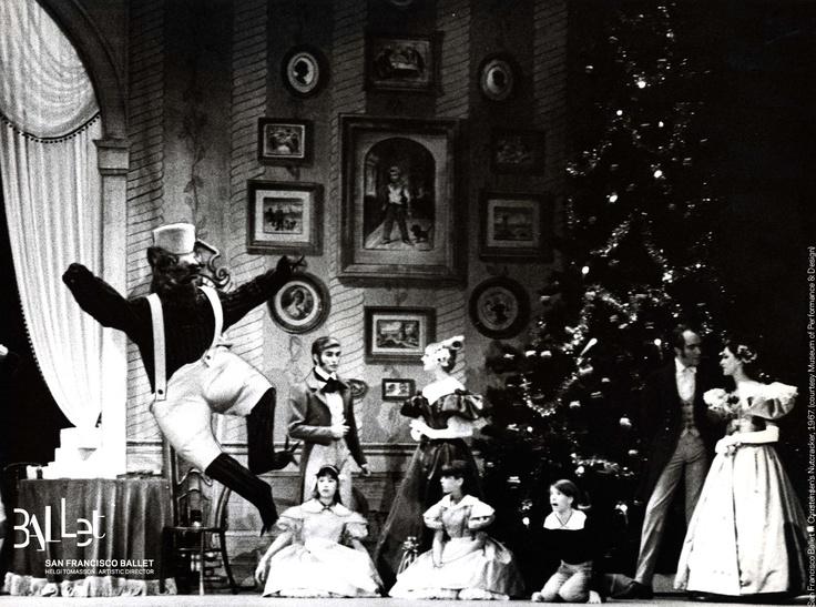 San Francisco Ballet in Lew Christensen's 'Nutcracker', 1967 (Photographer: Henri McDowell; courtesy SF Museum of Performance & Design)