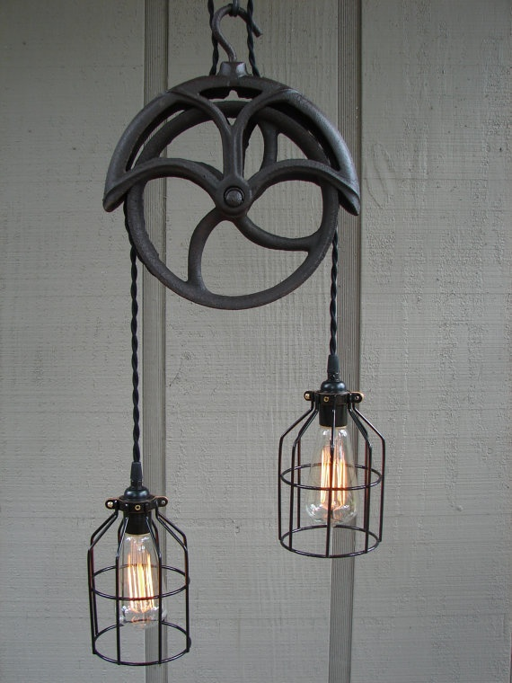 1000 images about upcycled lighting obsession on for Industrial lamp kit
