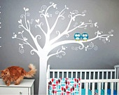 I love this tree and the owls...you can pick colors