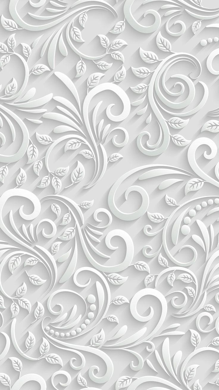 Paper swirls wallpaper