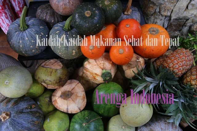 Kaidah-Kaidah Makanan Sehat dan Tepat #HidupSehat #MakananSehat  http://goo.gl/36hl5V