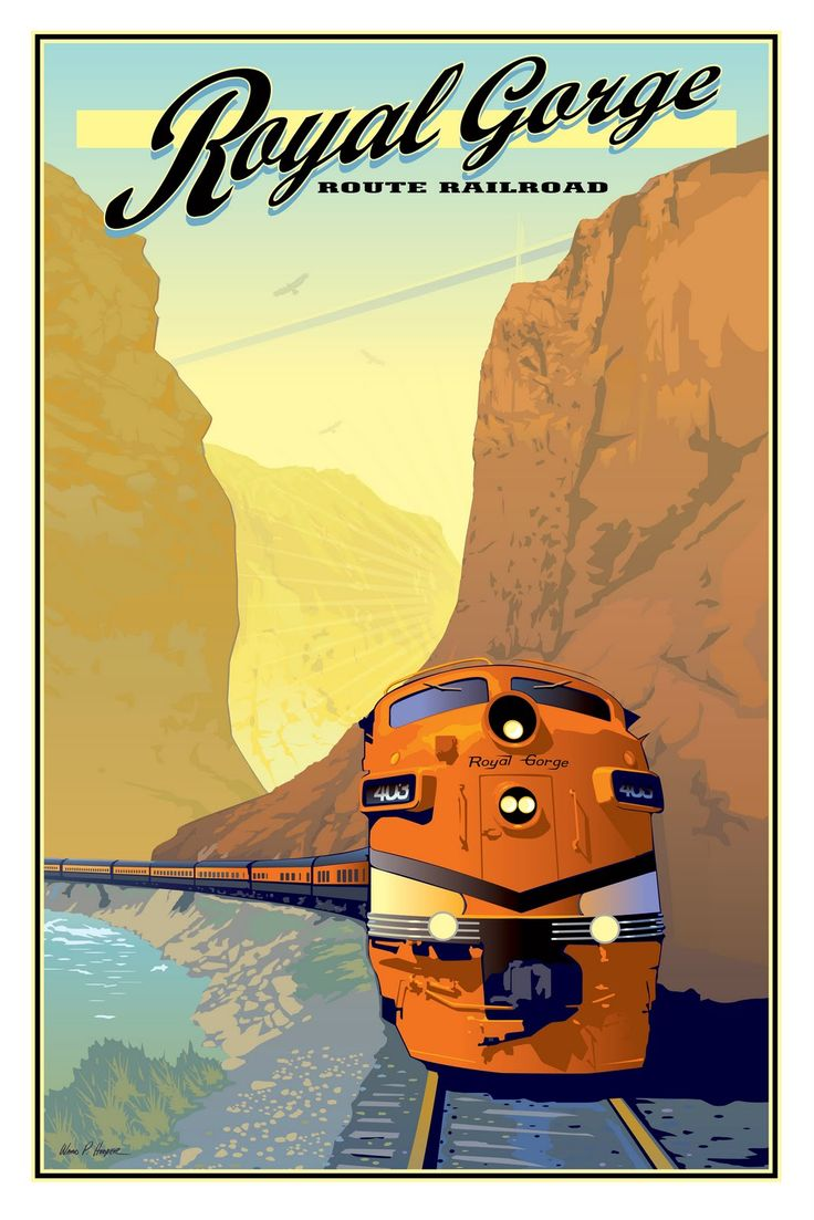The World of Old Railroad Posters   soundwordsight.com