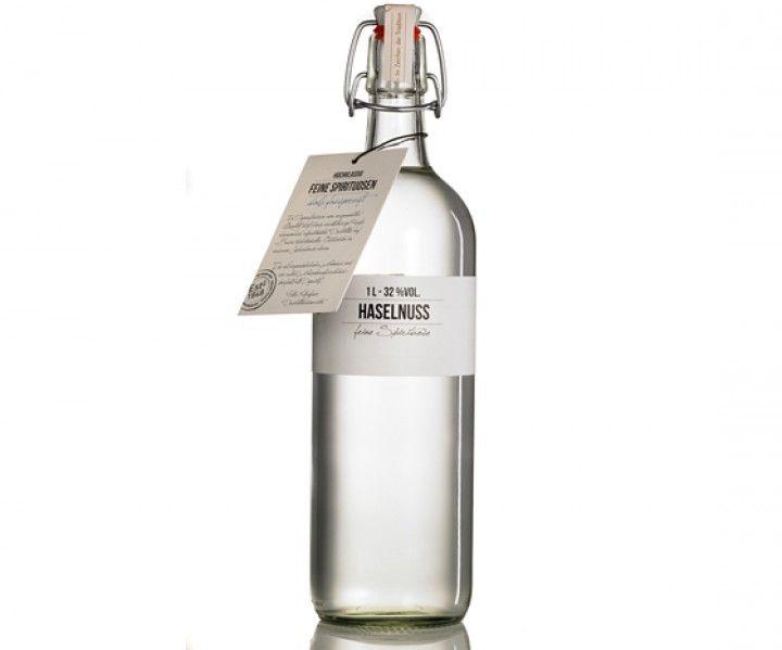 Haselnuss,1,0 l, Bügelflasche, 32% Vol.
