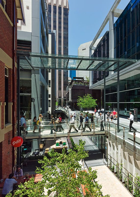 HASSELL | Projects - Brookfield Place