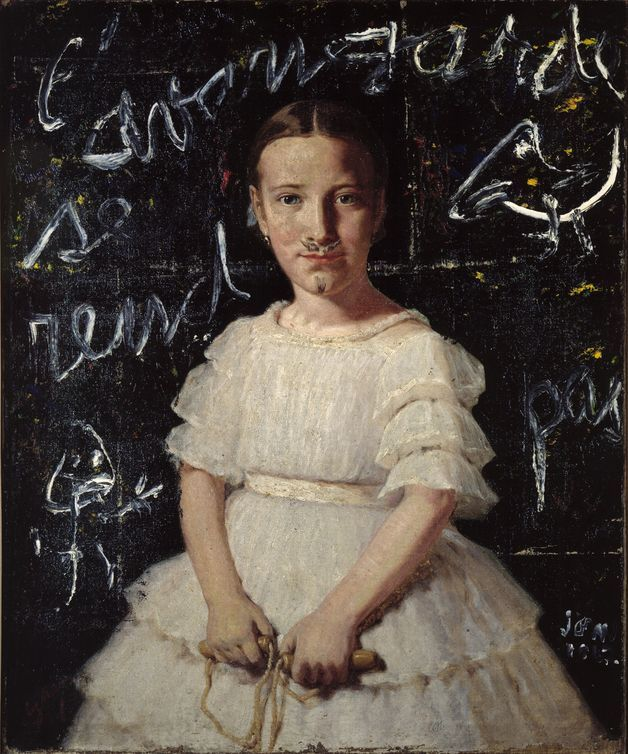 Asgar Jorn, The Avant-Garde Doesn't Give Up., 1962. Defiguration.