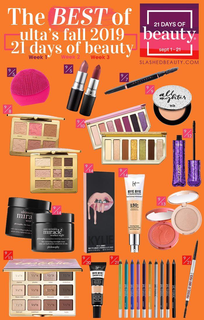 Ulta 21 Days of Beauty September 2019 Sale Highlights