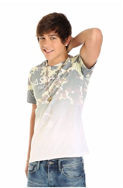 Austin Mahone - I think he's a cutie. And we're the same age! haha! :)