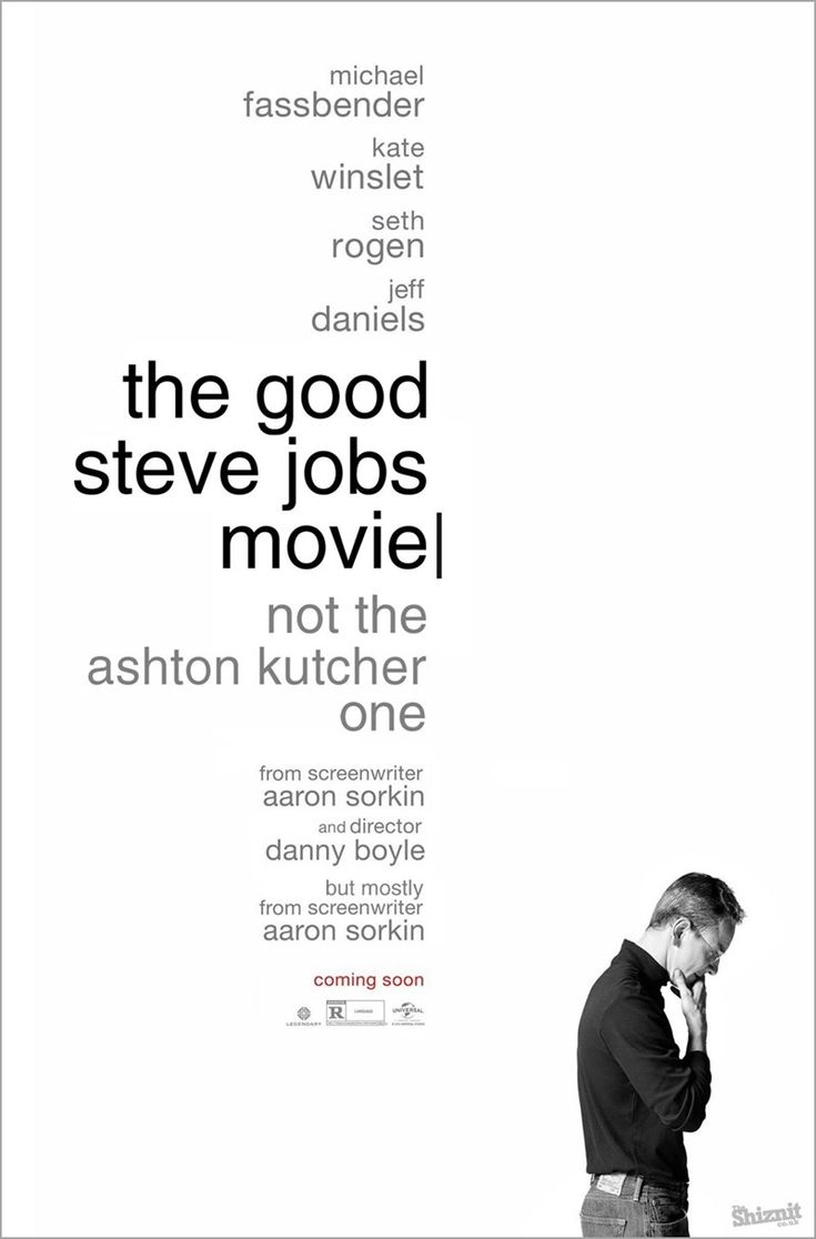 Honest Oscar-Nominated Movie Posters :: Steve Jobs