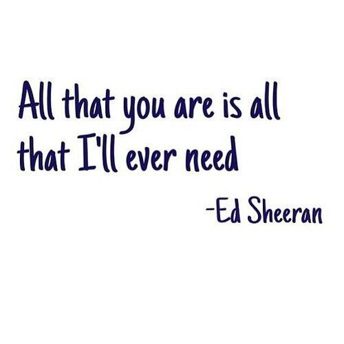 Baby, this is so true. Everything you are is everything I need or want. ILYMTMOL