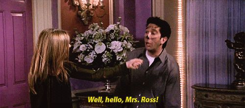 After they drunkenly get married in Las Vegas, Ross lies (AGAIN) and tells Rachel he got an annulment.   29 Reasons Ross Didn't Actually Deserve To Be With Rachel