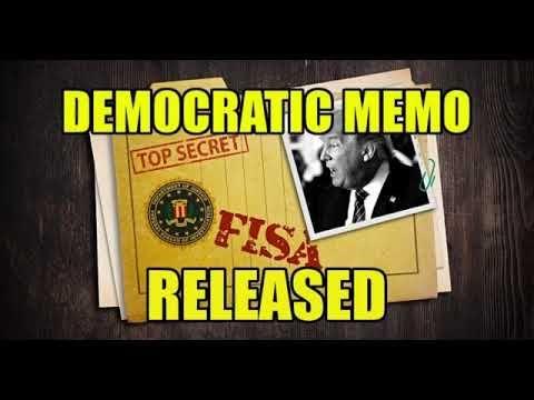 BREAKING News: DEMOCRAT FISA MEMO RELEASED – READ IT HERE