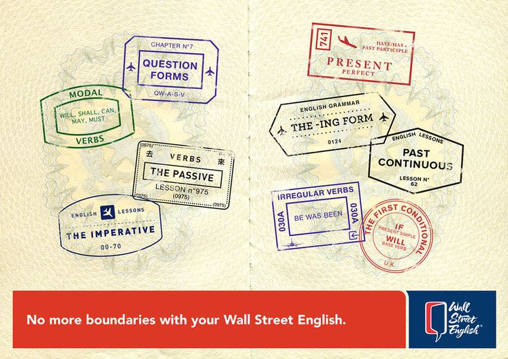 Wall Street English: Passport