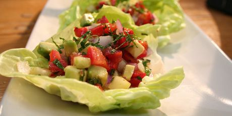 This easy salad comes together quickly to showcase the bright and fresh flavours of summer.