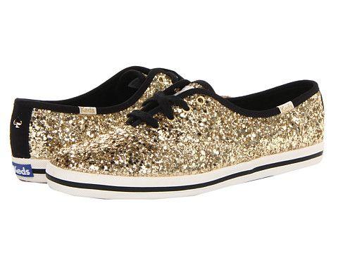 Kate Spade glitter sneakers