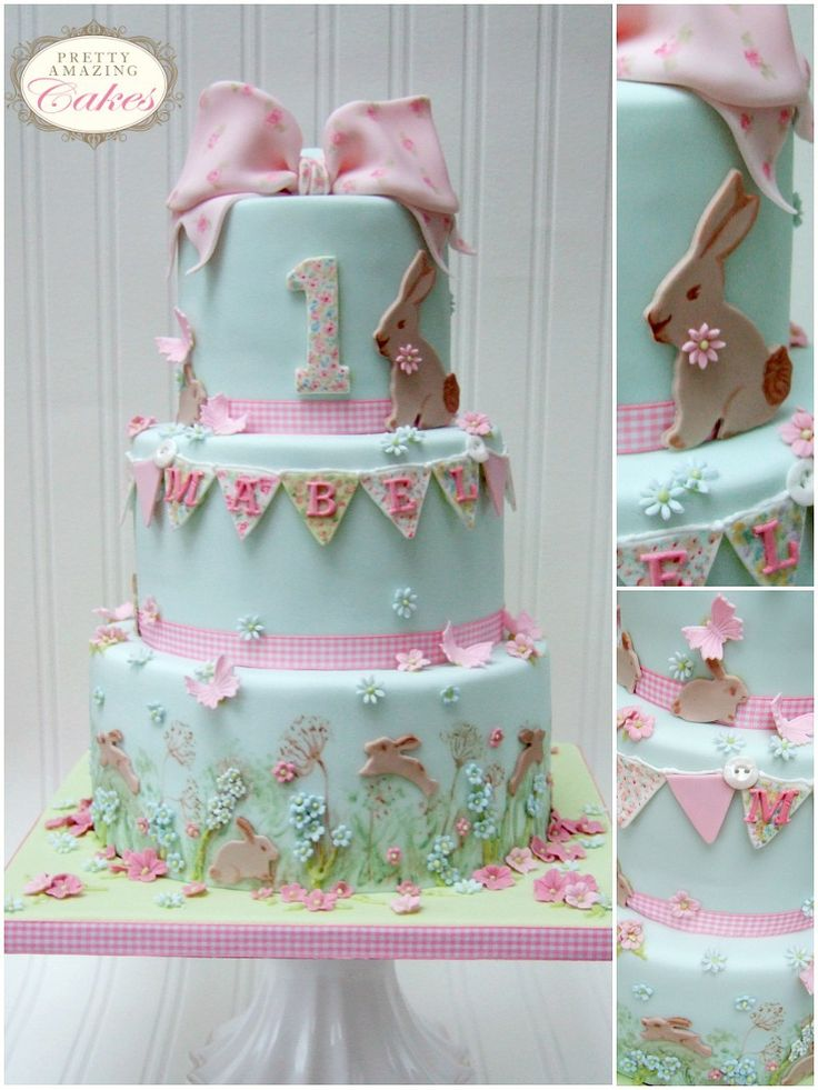 The 25 best ideas about baby christening cakes on pinterest pink christening cake - Baby baptism cake ideas ...