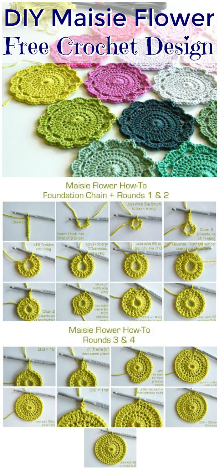 70 Easy Free Crochet Coaster Patterns For Beginners Craft Stuff